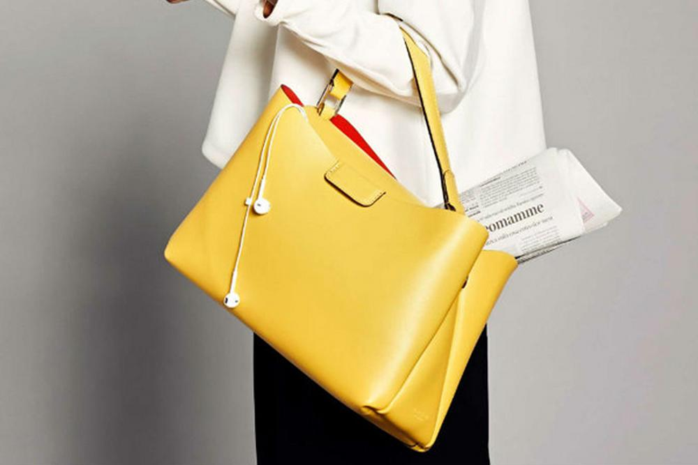 Gianni Chiarini yellow bag
