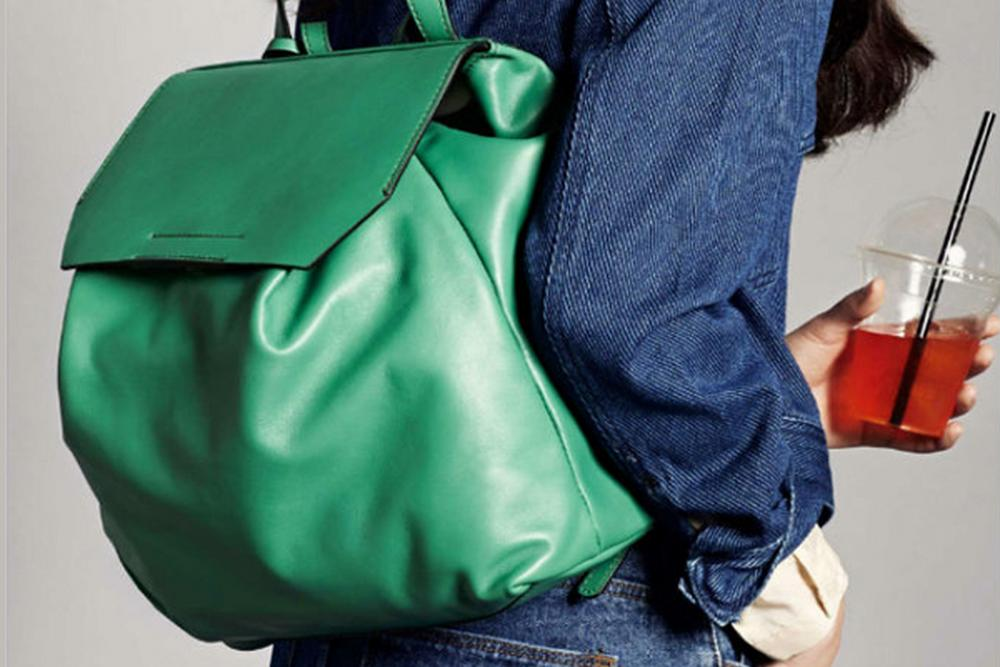 Gianni Chiarini green backpack