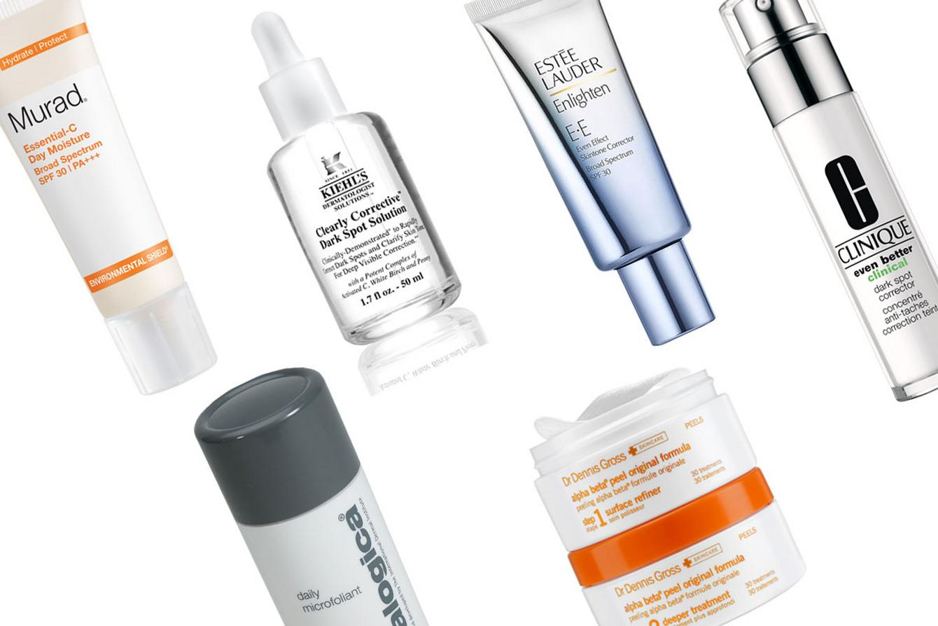 Skincare products to help pigmentation