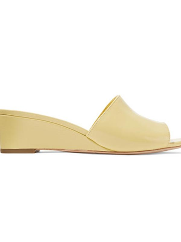 Loeffler Randall Tilly Patent Leather Wedge Sandal