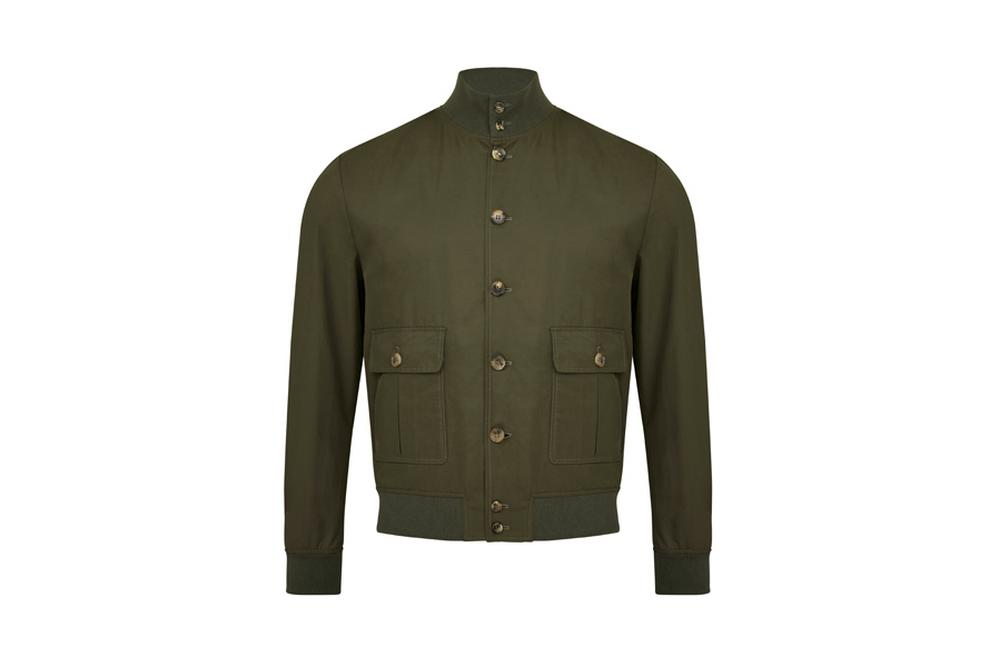 Valstar Bomber Jacket in Khaki