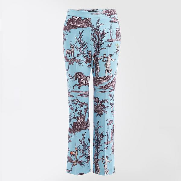 Oceania trousers in Light Blue