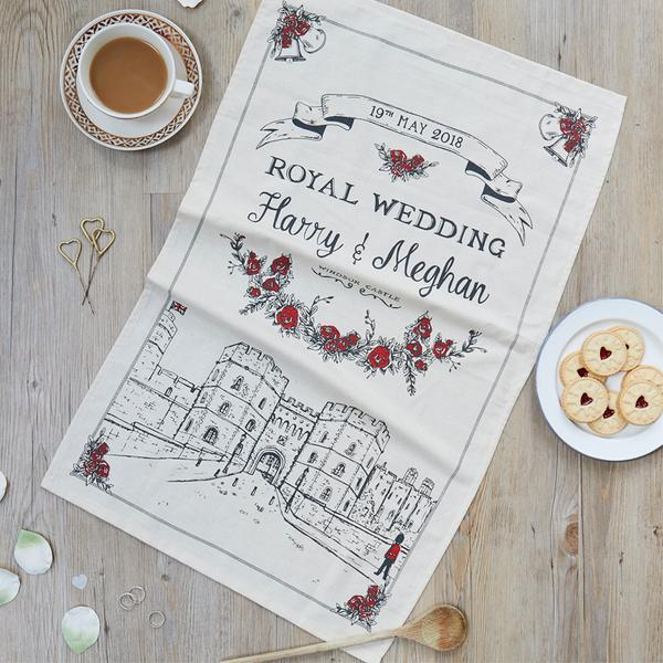 Victoria Eggs Royal Wedding Tea Towel