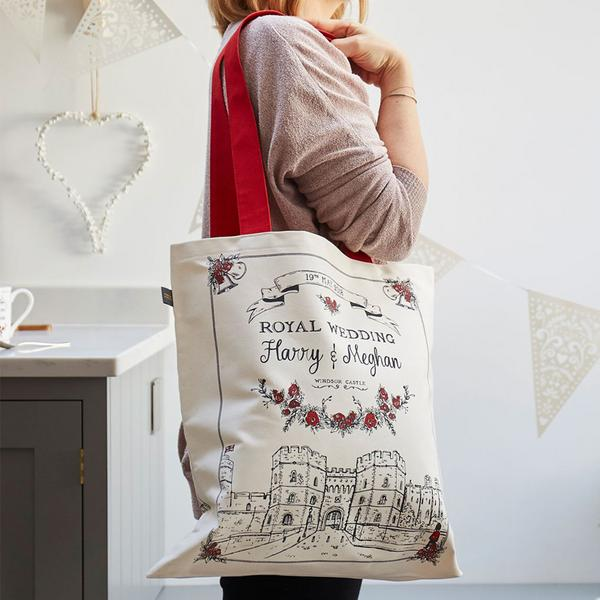 Victoria Eggs Royal Wedding Canvas Bag