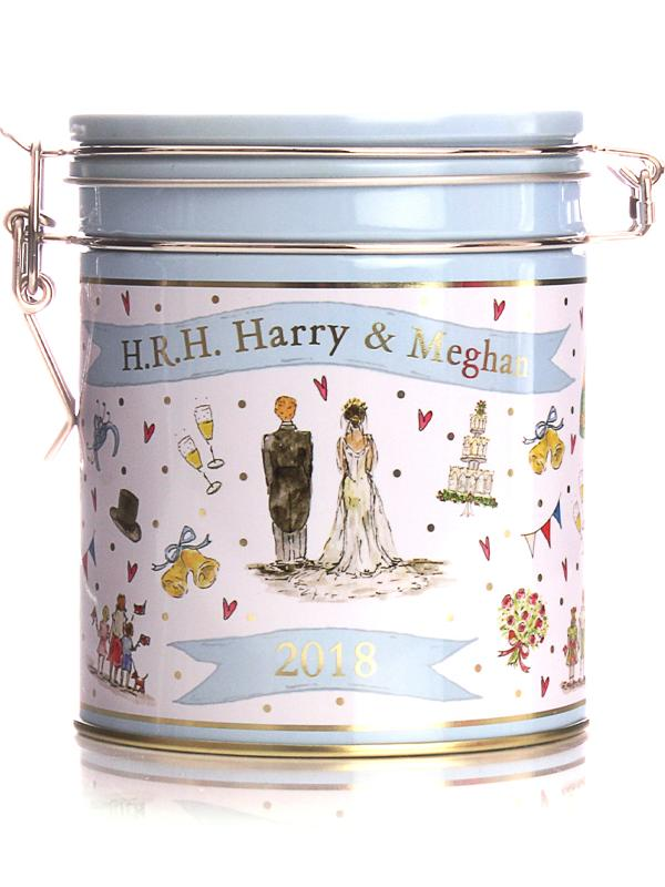 Milly Green Royal Wedding Afternoon Tea Tin