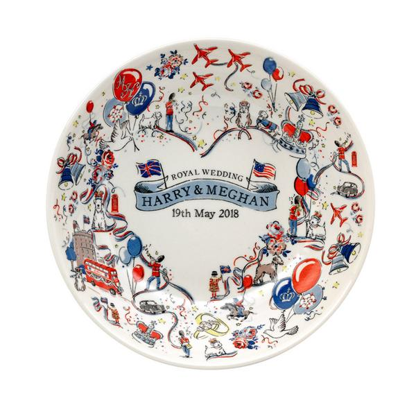 Commemorative Illustrated Plate