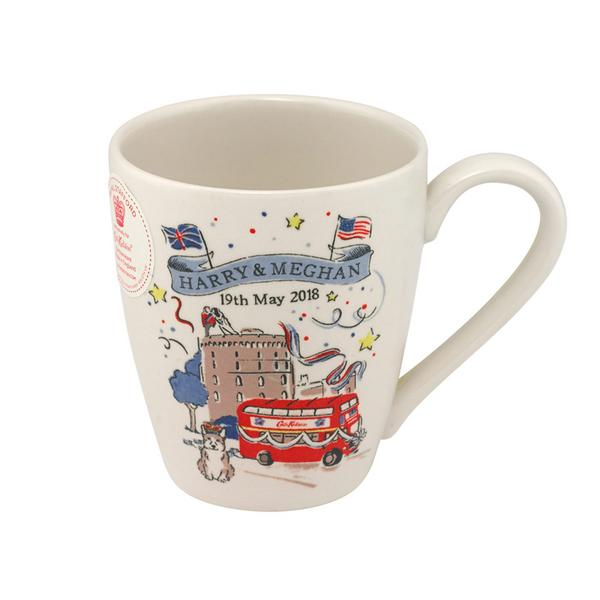 Cath Kidston Harry and Meghan Mug