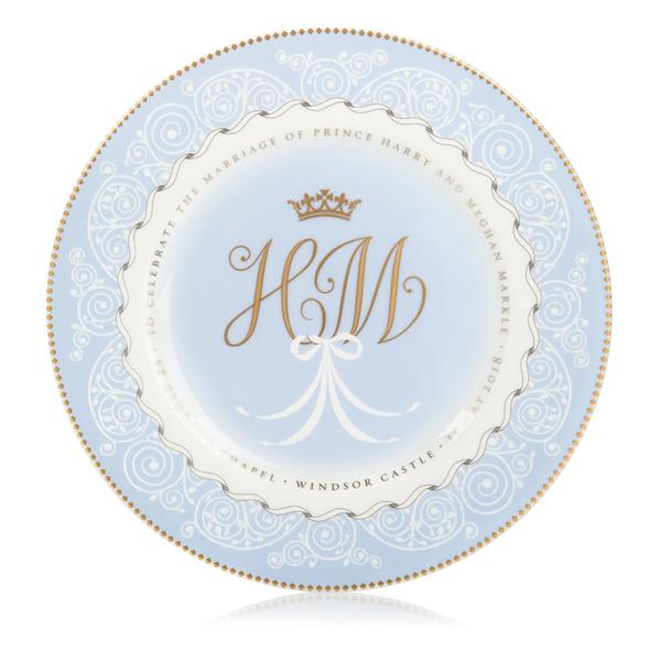 Wedgwood Harry and Meghan Commemorative Plate