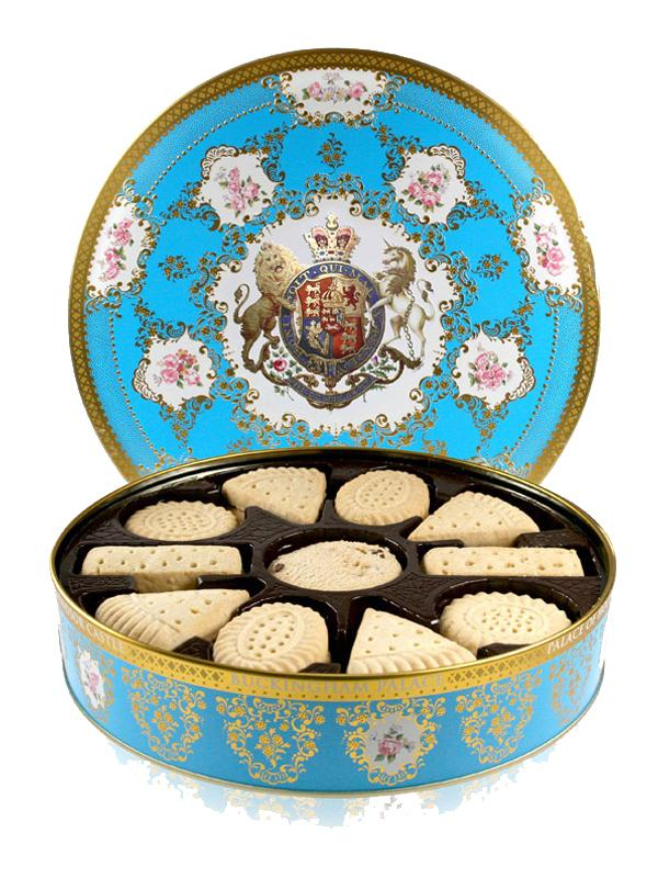 Palace Coat of Arms Biscuit Tin