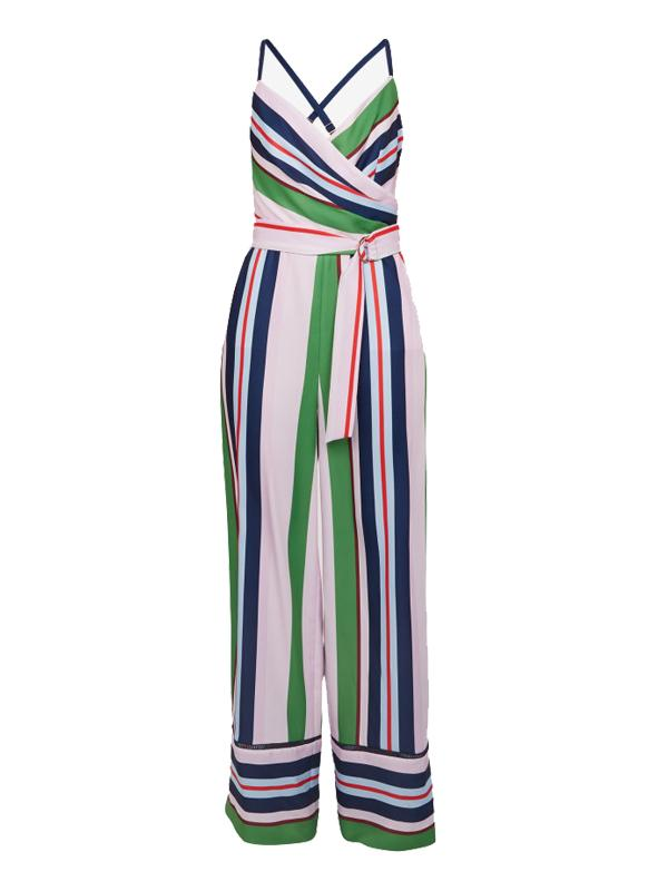 Ted Baker Striped Canpala Jumpsuit