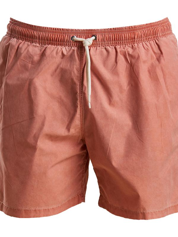 Barbour Swim Shorts in Orange