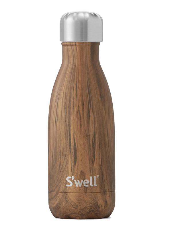 S'well Teakwood Insulated Stainless Steel Bottle