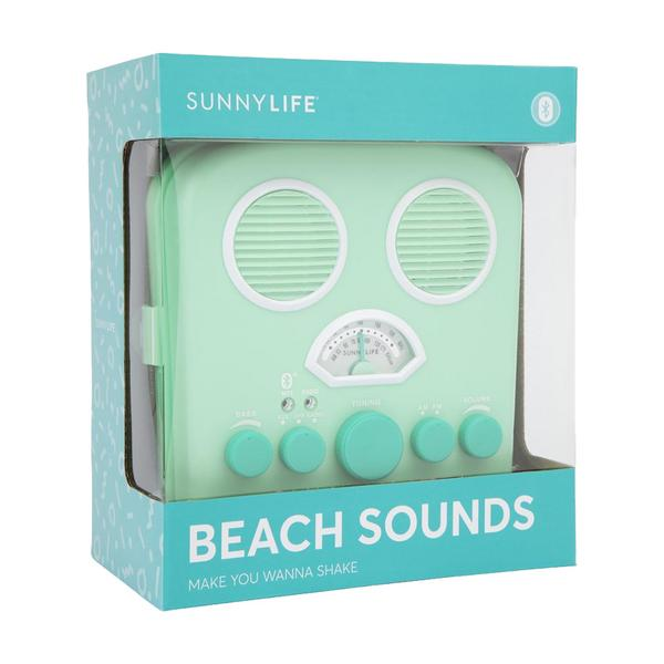 Sunnylife Beach Sounds Portable Speaker and Radio