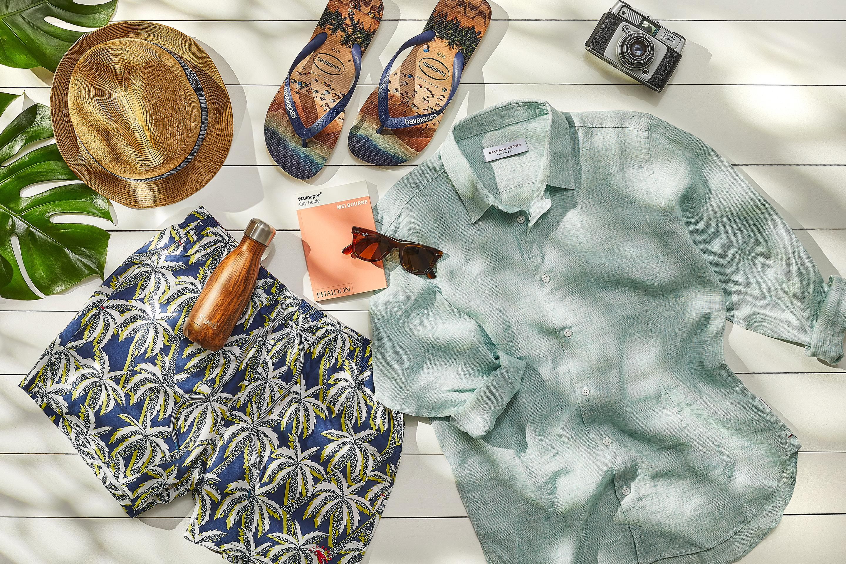 The Holiday Packing Guide Men's Edit