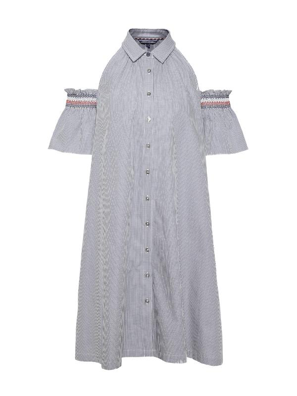 Tommy Hilfiger Off-Shoulder Dress