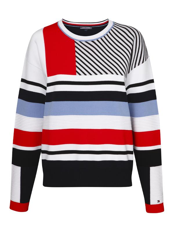 Tommy Hilfiger Stripe Comfort Fit Jumper