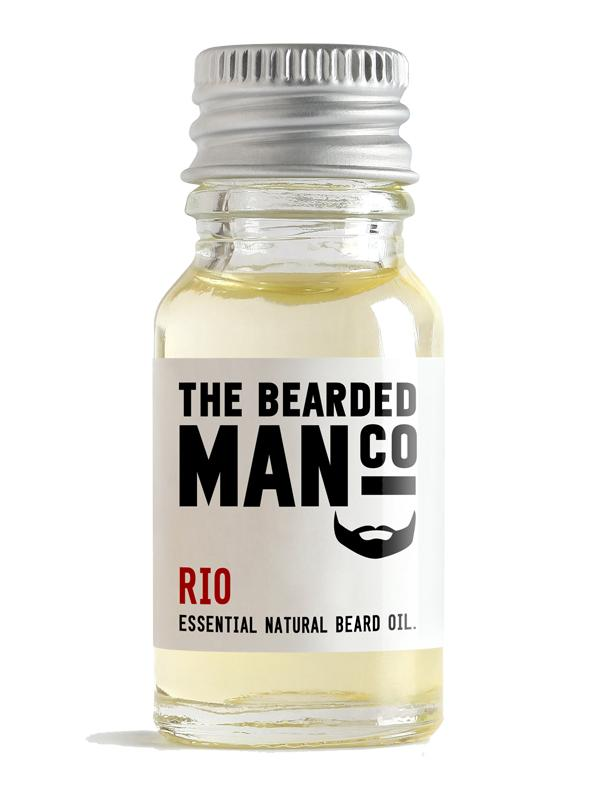 The Bearded Man Co Rio Essential Natural Beard Oil
