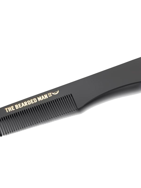 The Bearded Man Co Moustache Comb