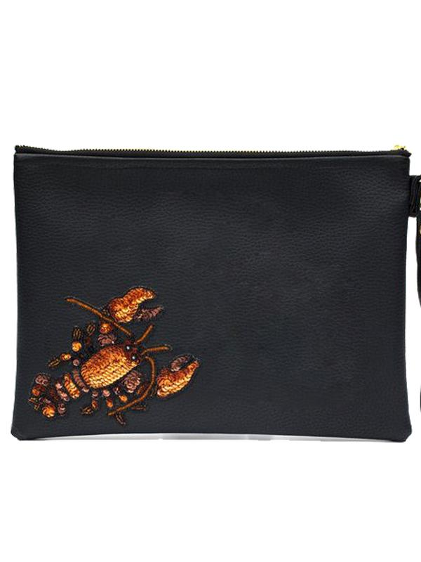 Tea & Tequila Zipolite Lobster Clutch