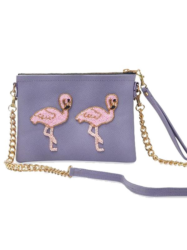 Tea & Tequila Flamingo Bag