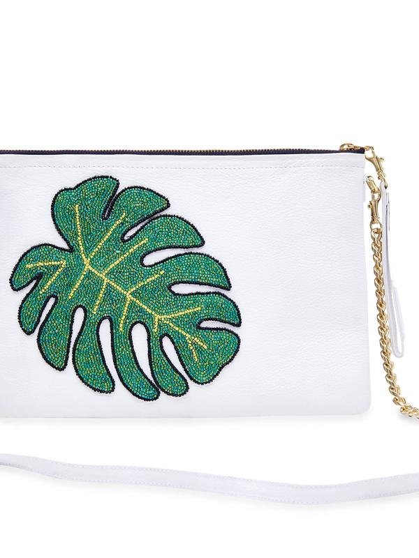 Tea & Tequila Monstera Leaf Bag