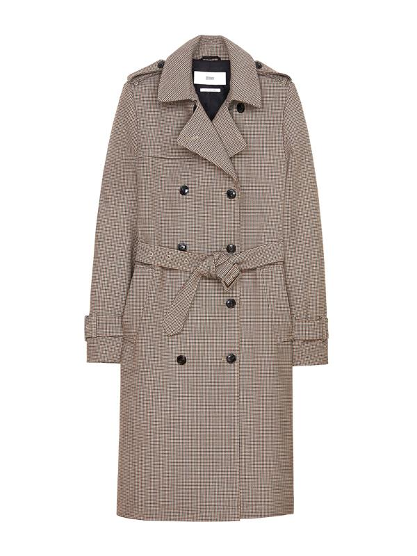 Closed Clubmoss Trench Coat