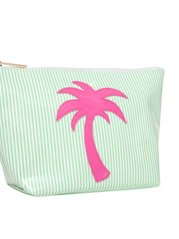 LOLO Palm Tree Makeup Bag