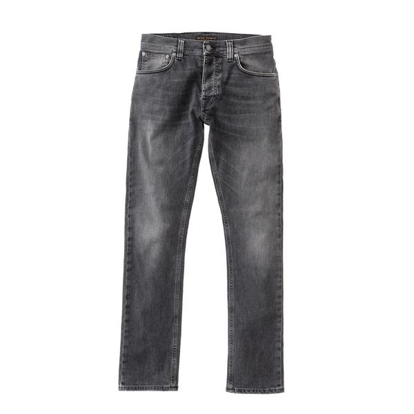 Nudie Lean Dean Black Sage Jeans