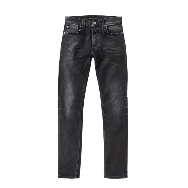 Nudie Jeans Lean Dean Black Sage