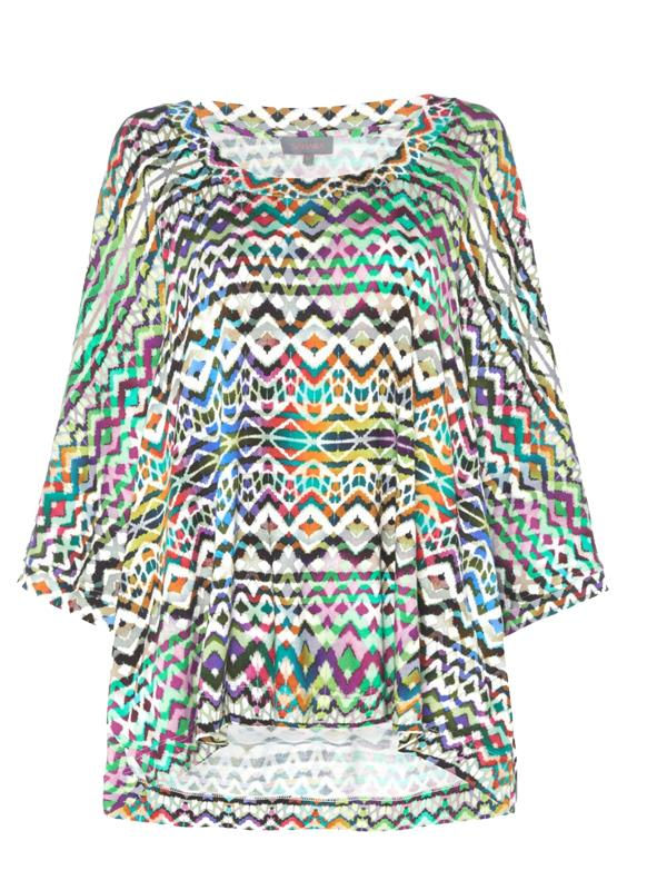 Sahara Watercolour Aztec Top
