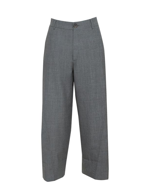 BITE Organic Cropped Grey Trouser