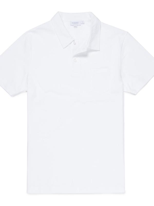 Riviera Polo Shirt in White