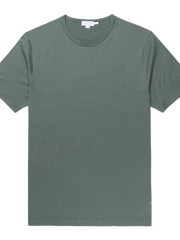 Classic Cotton T-Shirt in Scots Green