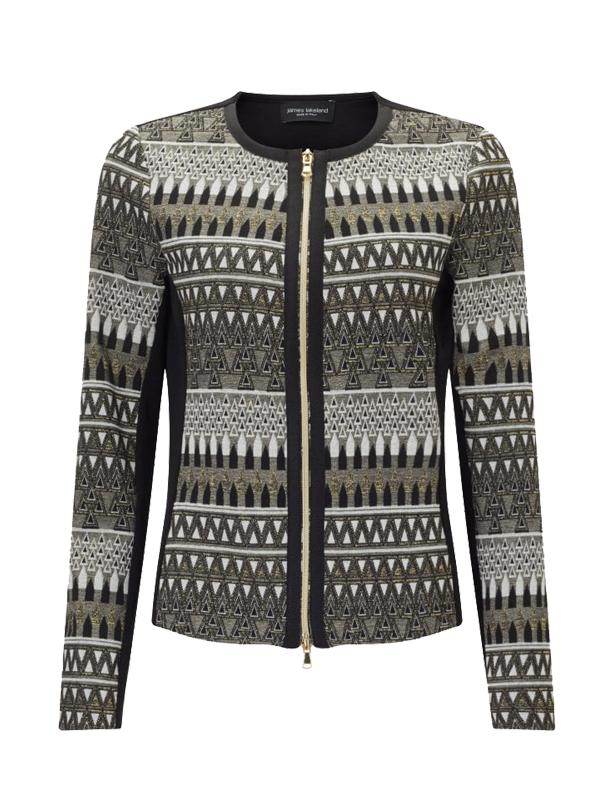 James Lakeland Lurex Metallic Jacket