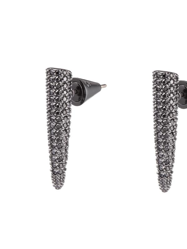 Spike Pave Earring