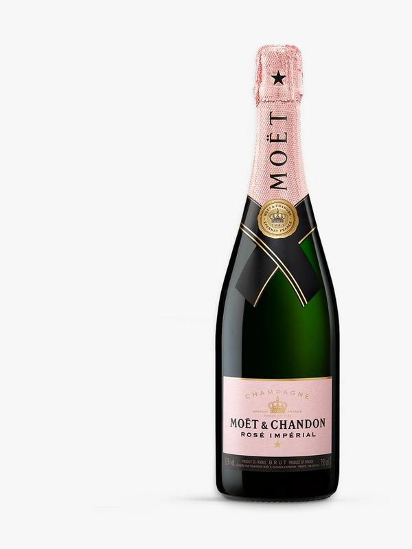 moet & chandon pink rose