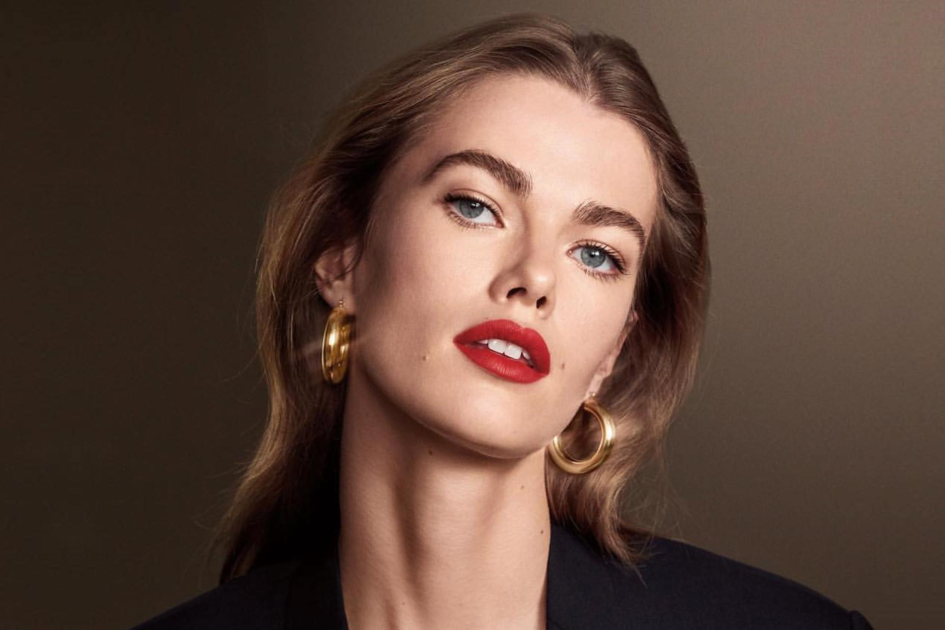 Bobbi Brown Luxe Matte Lip Color Mathilde Campaign