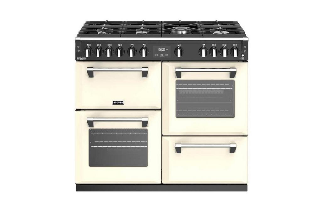 Stoves Richmond 100cm All Gas Range Cooker Cream