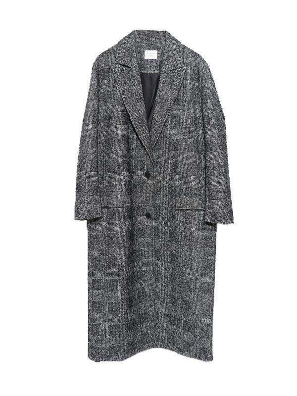 Les Coyotes de Paris Cappotto Big Check Coat