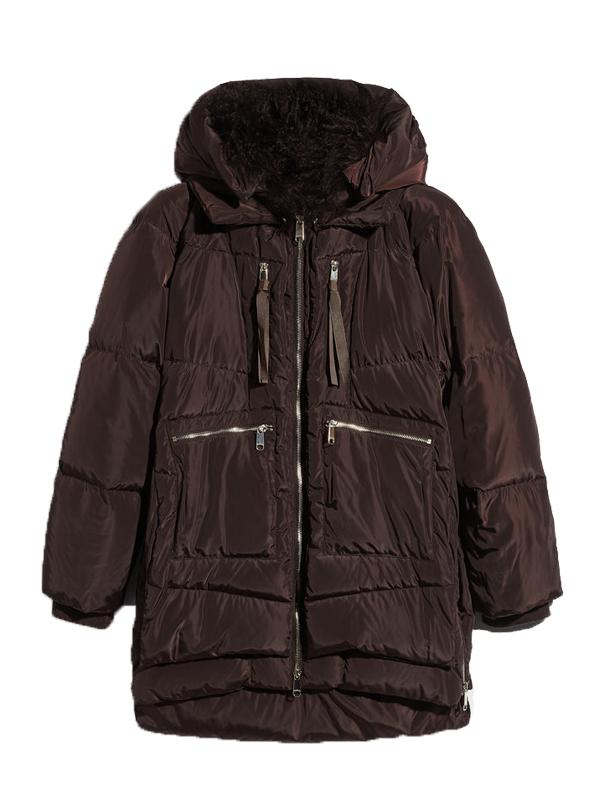 MAX&Co Dessert Multi-Zip Down Jacket