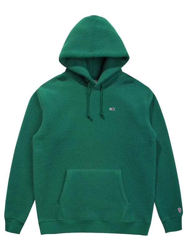 Tommy Jeans Classics' Fleece Hoodie Hunter Green