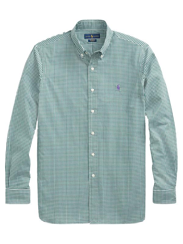Polo Ralph Lauren Classic Gingham Shirt in Green