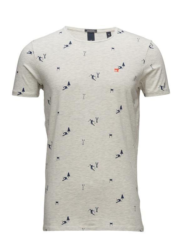 Scotch & Soda Ski Printed T-Shirt