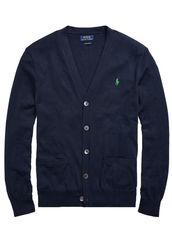 Polo Ralph Lauren Slim Fit Cotton Cardigan