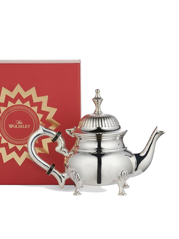 The Wolseley Silver-Plated Mini Teapot