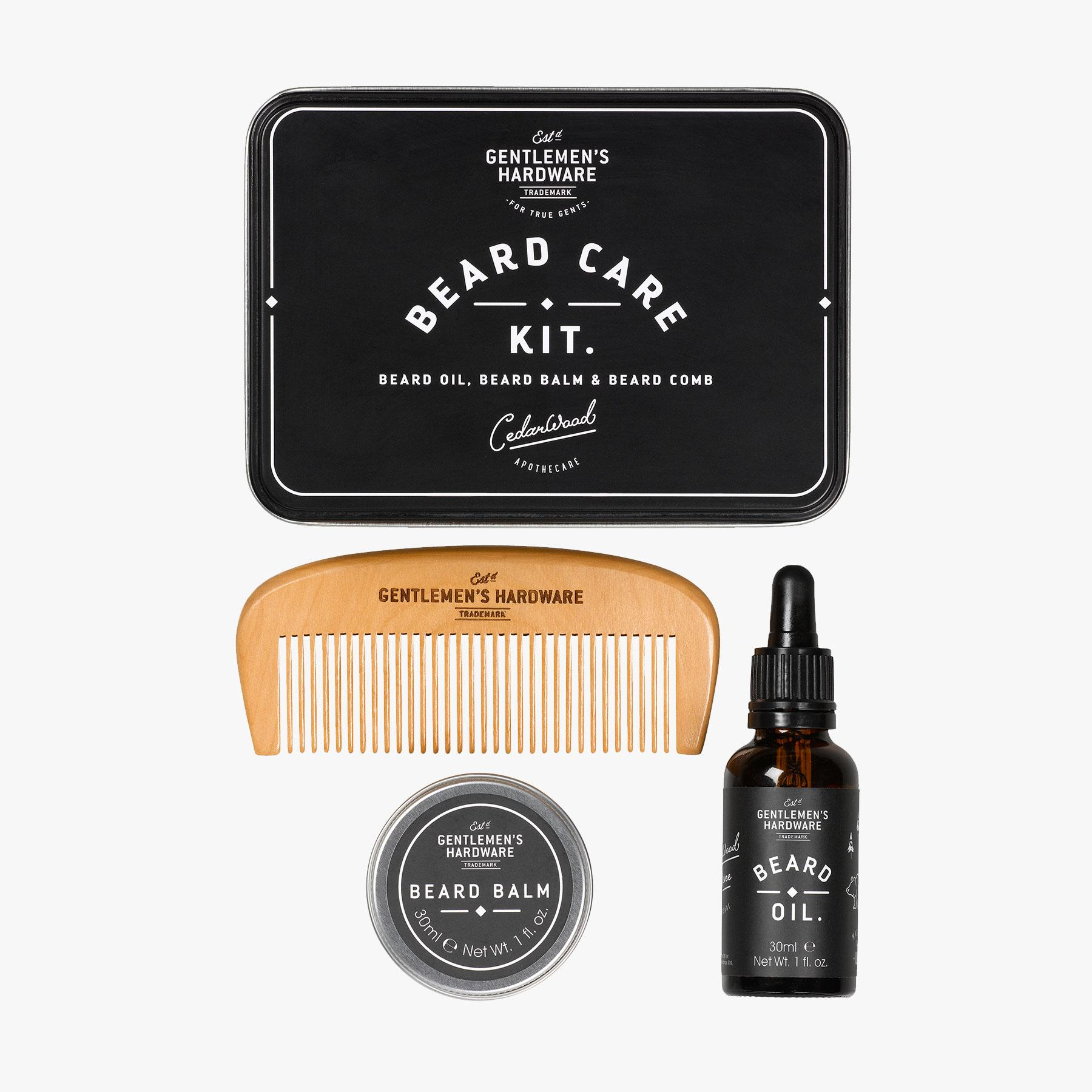 Gentleman's Hardware Beard Care Kit