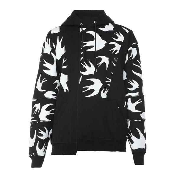 McQ Cut and Sew Swallow Hoodie
