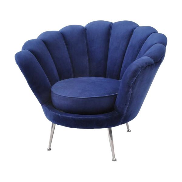 The Libra Company Halcyon Collection Velvet Chair