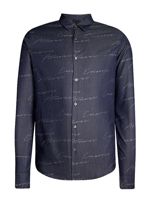 Emporio Armani All Over Signature Shirt