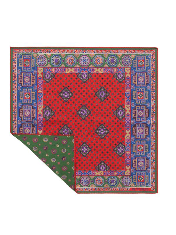 Etro Jamul Silk Pocket Square